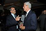 PAOLO CUCCIA E MARCO TRONCHETTI PROVERA<br /> PREMIO GUIDO CARLI - SECONDA EDIZIONE<br /> RICEVIMENTO A CASINA VALADIER ROMA 2011