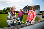Patrick Hunt chats with Patricia Griffin from NEWKD also on photo is Donal Dalton, NEWKD.