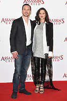 """Michael Fassbender and Marion Cotillard<br /> at the """"Assassin's Creed"""" photocall in Claridges Hotel London.<br /> <br /> <br /> ©Ash Knotek  D3211  08/12/2016"""