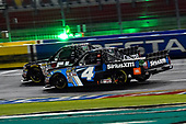 NASCAR Camping World Truck Series<br /> North Carolina Education Lottery 200<br /> Charlotte Motor Speedway, Concord, NC USA<br /> Friday 19 May 2017<br /> Kyle Busch, Cessna Toyota Tundra and Christopher Bell, SiriusXM Toyota Tundra<br /> World Copyright: Rusty Jarrett<br /> LAT Images<br /> ref: Digital Image 17CLT1rj_4094