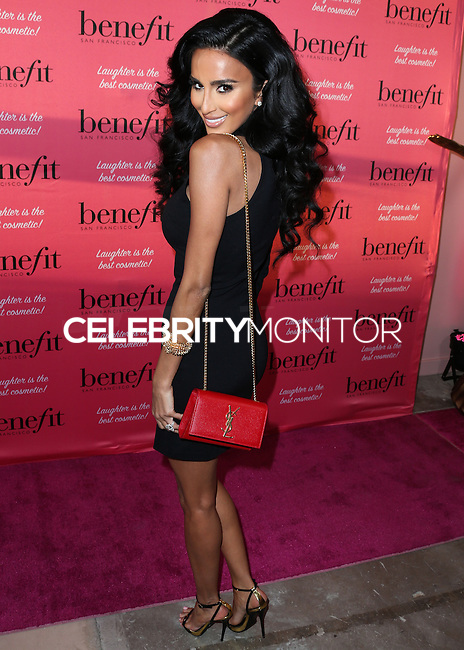 HOLLYWOOD, LOS ANGELES, CA, USA - SEPTEMBER 26: Lilly Ghalichi arrives at the Benefit Cosmetics: Wing Woman Weekend Kick-Off Party held at the Benefit Tattoo Parlor on September 26, 2014 in Hollywood, Los Angeles, California, United States. (Photo by Xavier Collin/Celebrity Monitor)