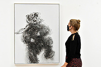 London, UK - 14 October 2020<br /> Young dancing bear, 2019 at Maggi Hambling's new exhibition at Marlborough Gallery, where she has a solo exhibition to coinciding with her 75th birthday, featuring recent paintings responding to the seismic events of the present, works include a new series of self-portraits created in lockdown, a series depicting wild animals facing threat and intimate portraits of people laughing.<br /> CAP/JOR<br /> ©JOR/Capital Pictures