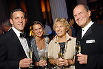 From left: Matthew VanBesien and his wife Rosie Jowett with Margarita and Hans Graf at the Houston Symphony's opening night gala dinner at The Corinthian Saturday Sept. 12, 2009. (Dave Rossman/For the Chronicle)