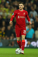 21st September 2021; Carrow Road, Norwich, England; EFL Cup Footballl Norwich City versus Liverpool; Andrew Robertson of Liverpool