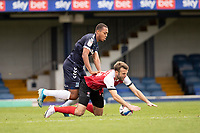 Shaun Hobson, Southend United concedes a free kick won by Andy Williams, Cheltenham Town during Southend United vs Cheltenham Town, Sky Bet EFL League 2 Football at Roots Hall on 17th October 2020