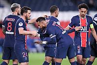 JOIE - FAIR PLAY - 10 NEYMAR JR (PSG) - 24 ALESSANDRO FLORENZI (PSG)<br /> 02/10/2020<br /> Paris Saint Germain PSG - Angers<br /> Calcio Ligue 1 2020/2021<br /> Photo Philippe Lecoeur/Panoramic/insidefoto <br /> ITALY ONLY