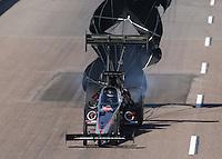 Feb. 23, 2013; Chandler, AZ, USA; NHRA top fuel dragster driver Larry Dixon during qualifying for the Arizona Nationals at Firebird International Raceway. Mandatory Credit: Mark J. Rebilas-