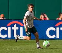 Tina DiMartino. The Washington Freedom defeated the Saint Louis Athletica, 3-1.