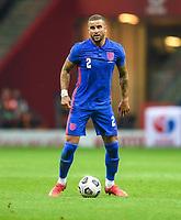 8th September 2021; PGE National Stadium, Warsaw, Poland: FIFA World Cup 2022 Football qualification, Poland versus England;  Kyle Walker