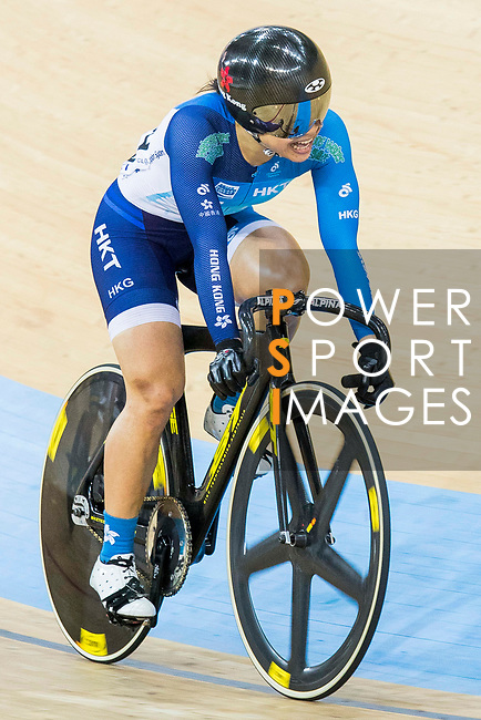 Lee Wai Sze of Hong Kong competes in the Women's Keirin - 1st Round during the 2017 UCI Track Cycling World Championships on 16 April 2017, in Hong Kong Velodrome, Hong Kong, China. Photo by Chris Wong / Power Sport Images