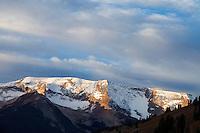 Sunrise in Lead King Basin, near Crystal, Colorado