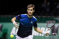 Rotterdam, Netherlands, 10 februari, 2018, Ahoy, Tennis, ABNAMROWTT, Qualifying, Martin Klizan (SVK)<br /> Photo: Henk Koster/tennisimages.com