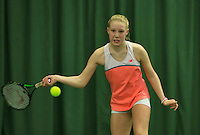 Rotterdam, The Netherlands, March 19, 2016,  TV Victoria, NOJK 14/18 years, Melissa Boyden (NED)<br /> Photo: Tennisimages/Henk Koster