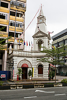 Old Clock Tower, Now Tourism Office, Taiping, Malaysia.