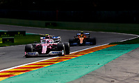 30th August 2020, Spa Francorhamps, Belgium, F1 Grand Prix of Belgium , Race Day;  18 Lance Stroll CAN, BWT Racing Point F1 Team