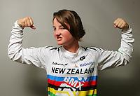 "Girls 12 years BMX 20"" class world champion Tahlia Hansen. BikeNZ/SPARC World Champions media session at Sparc Headquarters, Wellington, New Zealand on Wednesday, 2 December 2009. Photo: Dave Lintott / lintottphoto.co.nz"