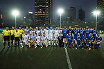 Citi All Stars (in blue) vs Discovery Bay (in white) during their Masters Tournament match, part of the HKFC Citi Soccer Sevens 2017 on 26 May 2017 at the Hong Kong Football Club, Hong Kong, China. Photo by Chris Wong / Power Sport Images
