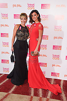 Lucy Mecklenburgh and stepmum, Tracey Collins<br /> at the Breast Cancer Care fashion Show 2016, London.<br /> <br /> <br /> ©Ash Knotek  D3193  02/11/2016