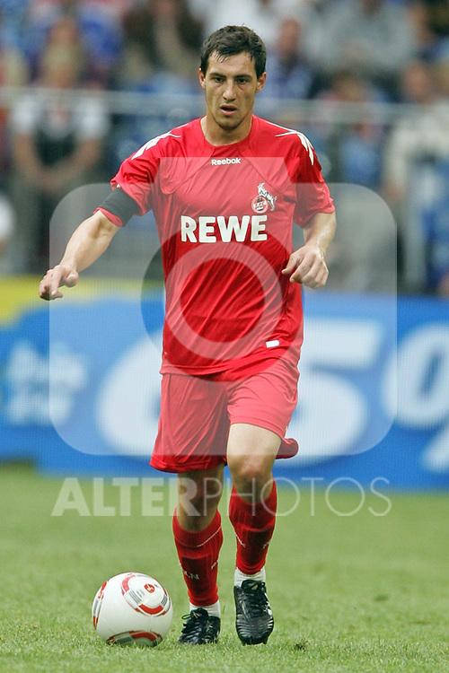 31.07.2010,  Veltnis-Arena, Gelsenkirchen, GER, 1.FBL, FC Bayern Muenchen - 1. FC Koeln, Liga total! Cup 2010, im Bild: Mato Jajalo (Koeln #19) Foto © nph / Mueller