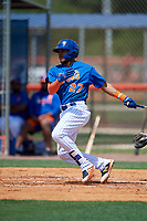 New York Mets Gregory Guerrero (27) during a Minor League Extended Spring Training game against the Miami Marlins on April 12, 2019 at First Data Field Complex in St. Lucie, Florida.  (Mike Janes/Four Seam Images)