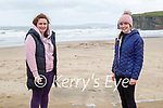 Enjoying a stroll in Ballybunion on Saturday, l to r: Avril Dineen and Sarah Prendergast.