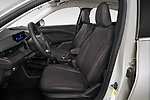 Front seat view of 2021 Ford Mustang-Mach-E - 5 Door SUV Front Seat  car photos