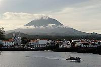 Vulkan Pico Alto auf der Insel Pico, Azoren, Portugal