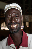 Dakar, Senegal.  A Fulani from the Fouta Djallon (Futa Jallon) region.