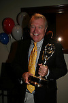 One Life To Live's Jerry VerDorn is one of the hosts and here holds his Emmy which raised $ for cancer with fans posing with it at the 2009 Daytime Stars and Strikes to benefit the American Cancer Society on October 11, 2009 at the Port Authority Leisure Lanes, New York City, New York. (Photo by Sue Coflin/Max Photos)
