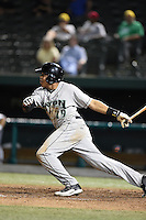 Dayton Dragons outfielder Jon Matthews (29) at bat during a game against the South Bend Silver Hawks on August 20, 2014 at Four Winds Field in South Bend, Indiana.  Dayton defeated South Bend 5-3.  (Mike Janes/Four Seam Images)