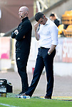 St Johnstone v Dundee….20.04.19   McDiarmid Park   SPFL<br />Dundee boss Jim McIntyre<br />Picture by Graeme Hart. <br />Copyright Perthshire Picture Agency<br />Tel: 01738 623350  Mobile: 07990 594431