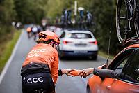handling a bottle<br /> <br /> 4th Liège-Bastogne-Liège-Femmes 2020 (1.WWT)<br /> 1 Day Race: Bastogne – Liège 135km<br /> <br /> ©kramon