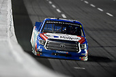 CONCORD, NORTH CAROLINA - MAY 26: Austin Hill, driver of the #16 United Rentals Toyota, drives during the NASCAR Gander Outdoors Trucks Series North Carolina Education Lottery 200 at Charlotte Motor Speedway on May 26, 2020 in Concord, North Carolina. (Photo by Jared C. Tilton/Getty Images)