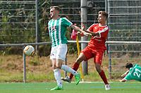 Nils Beisser (Groß-Gerau) gegen Robin Hluchnik (Büttelborn) - 15.08.2021 Büttelborn: SV Klein-Gerau vs. SKG Bauschheim, A-Liga