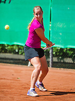 August 9, 2014, Netherlands, Rotterdam, TV Victoria, Tennis, National Junior Championships, NJK,  Inger van Dijkman (NED)<br /> Photo: Tennisimages/Henk Koster