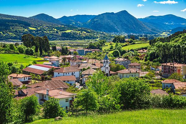 Busturia. Urdaibai Region. Bizkaia. Basque Country. Spain.