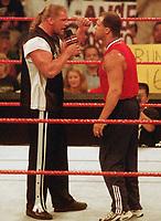 Kurt Angle  Triple H 1999                                                         By John Barrett/PHOTOlink