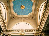 Nicholas Hawksmoor: St. Mary Woolnoth, 1716-27. Ceiling detail.