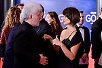 Pedro Almodovar and Penelope Cruz attends to the Red Carpet of the Goya Awards 2017 at Madrid Marriott Auditorium Hotel in Madrid, Spain. February 04, 2017. (ALTERPHOTOS/BorjaB.Hojas)