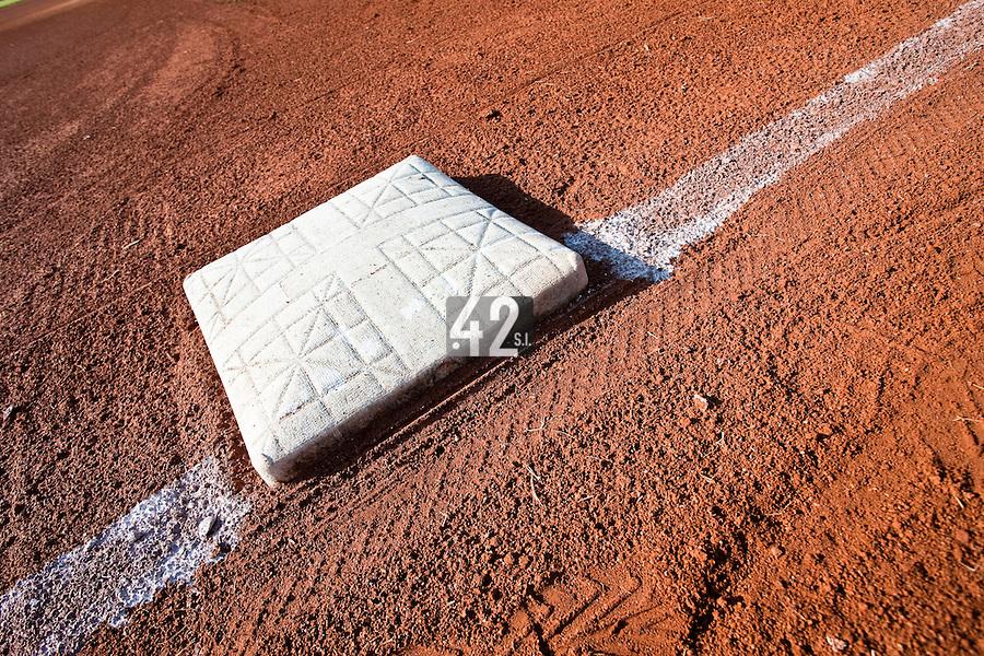 Baseball - MLB European Academy - Tirrenia (Italy) - 22/08/2009 - Base