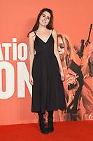 "Dodie Clark<br /> arriving for the London Film Festival screening of ""Assassination Nation"" at the Cineworld Leicester Square, London<br /> <br /> ©Ash Knotek  D3450  19/10/2018"