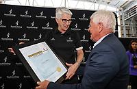 Swimming NZ Life Membership Awarded to Leslie Huckins. New Zealand Short Course Swimming Championships, National Aquatic Centre, Auckland, New Zealand, Wednesday 2nd October 2019. Photo: Simon Watts/www.bwmedia.co.nz/SwimmingNZ