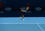 Jamie Hampton (USA) loses at Australian Open in Melbourne Australia on 18th January 2013