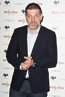 """Slavin Bilic<br /> arrives for the """"Iron Men"""" premiere at the Mile End Genesis cinema, London.<br /> <br /> <br /> ©Ash Knotek  D3236  02/03/2017"""