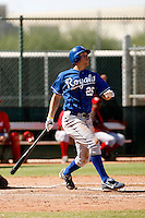 Eric Hosmer - Kansas City Royals 2009 Instructional League. .Photo by:  Bill Mitchell/Four Seam Images..