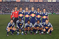 New York Red Bulls starting XI. The New York Red Bulls defeated the LA Galaxy 2-1 at Home Depot Center Stadium, in Carson, Calif., on Saturday, May 10, 2008.