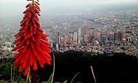 BOGOTA -COLOMBIA , 6- MAYO-2017.Panorámica de la ciudad . Photo: VizzorImage / Felipe Caicedo / Staff