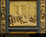 Story of Isaac Gates of Paradise Ghiberti Baptistry of San Giovanni Florence
