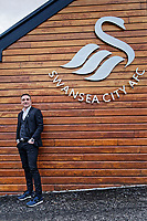 Carlos Carvalhal poses for a portrait after being unveiled as New Swansea City Manager at The Fairwood Training Ground in Swansea, Wales, UK. Thursday 28 December 2017