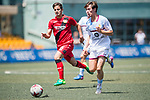 Aston Villa (in white) vs Bayer Leverkusen (in red), during their Main Tournament match, part of the HKFC Citi Soccer Sevens 2017 on 27 May 2017 at the Hong Kong Football Club, Hong Kong, China. Photo by Marcio Rodrigo Machado / Power Sport Images